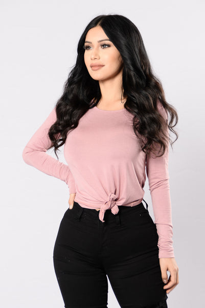 Kaitlyn Tee - Antique Mauve
