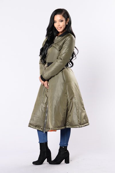 Nothing Else Like It Jacket - Olive