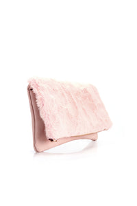 Make The Fur Fly Crossbody - Pink