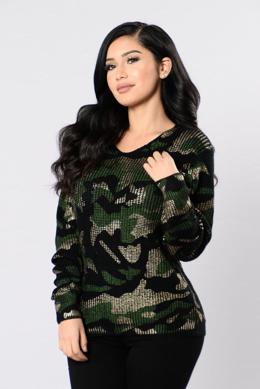 Metal Militia Sweater - Camo
