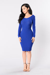 Best Kept Secret Dress - Royal