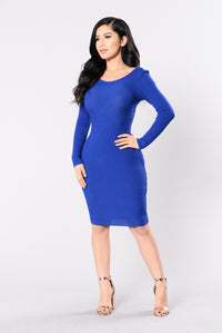 Best Kept Secret Dress - Royal Angle 3