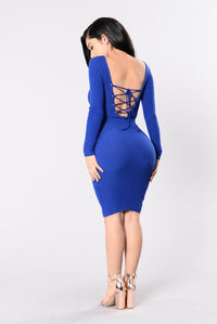 Best Kept Secret Dress - Royal Angle 2