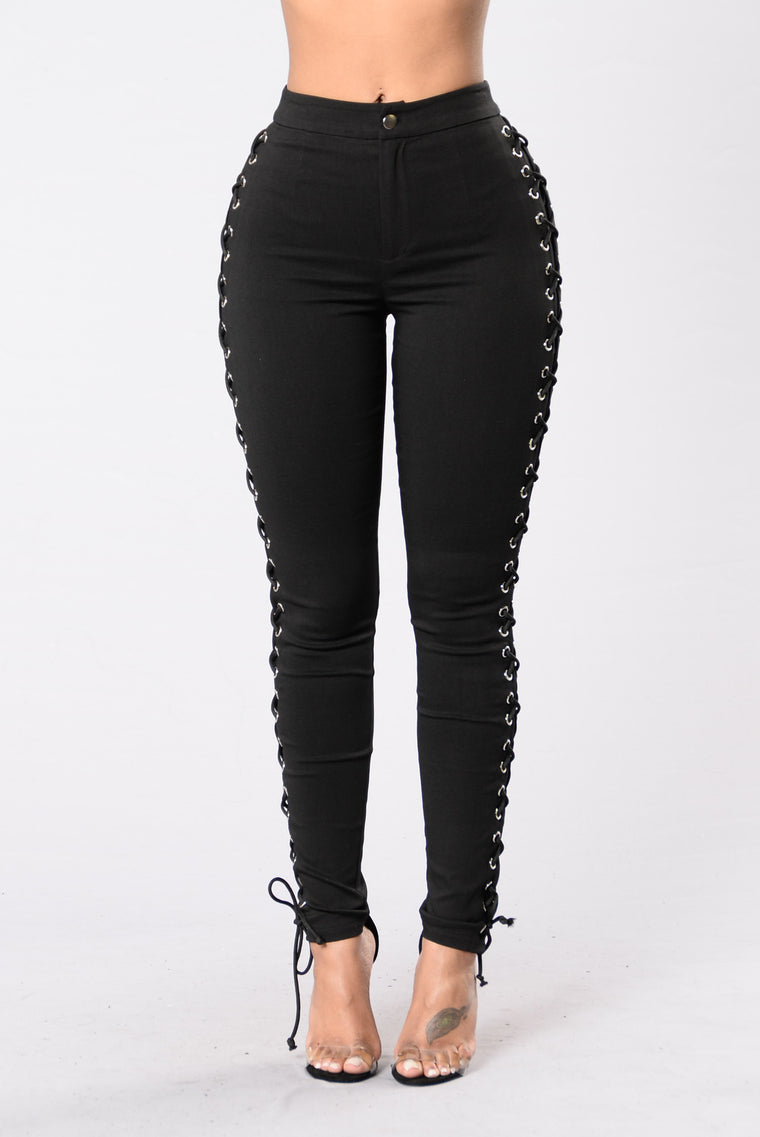 Push and Shove Pants - Black