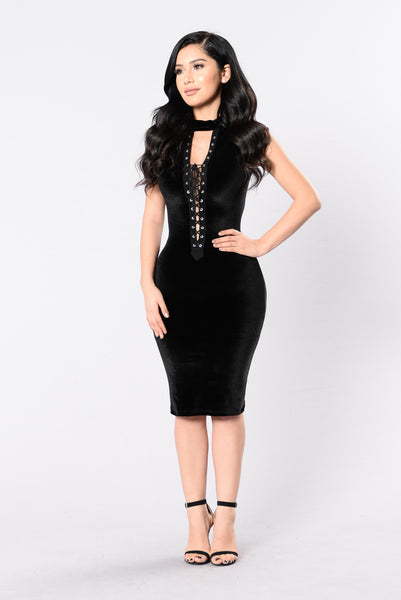 Hailey Dress - Black