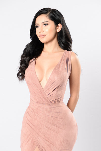 My Favorite Song Dress - Dusty Pink