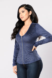 Now And Forever Jacket - Navy