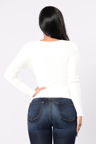 Sharlene Sweater - Ivory
