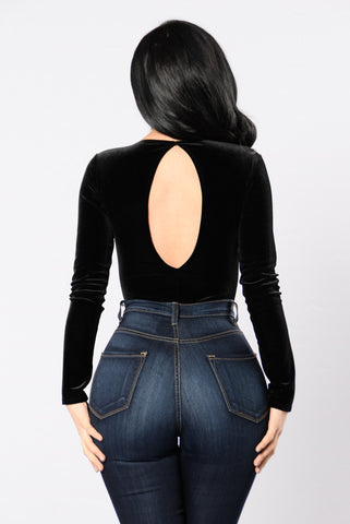 Bey Yourself Bodysuit - Black