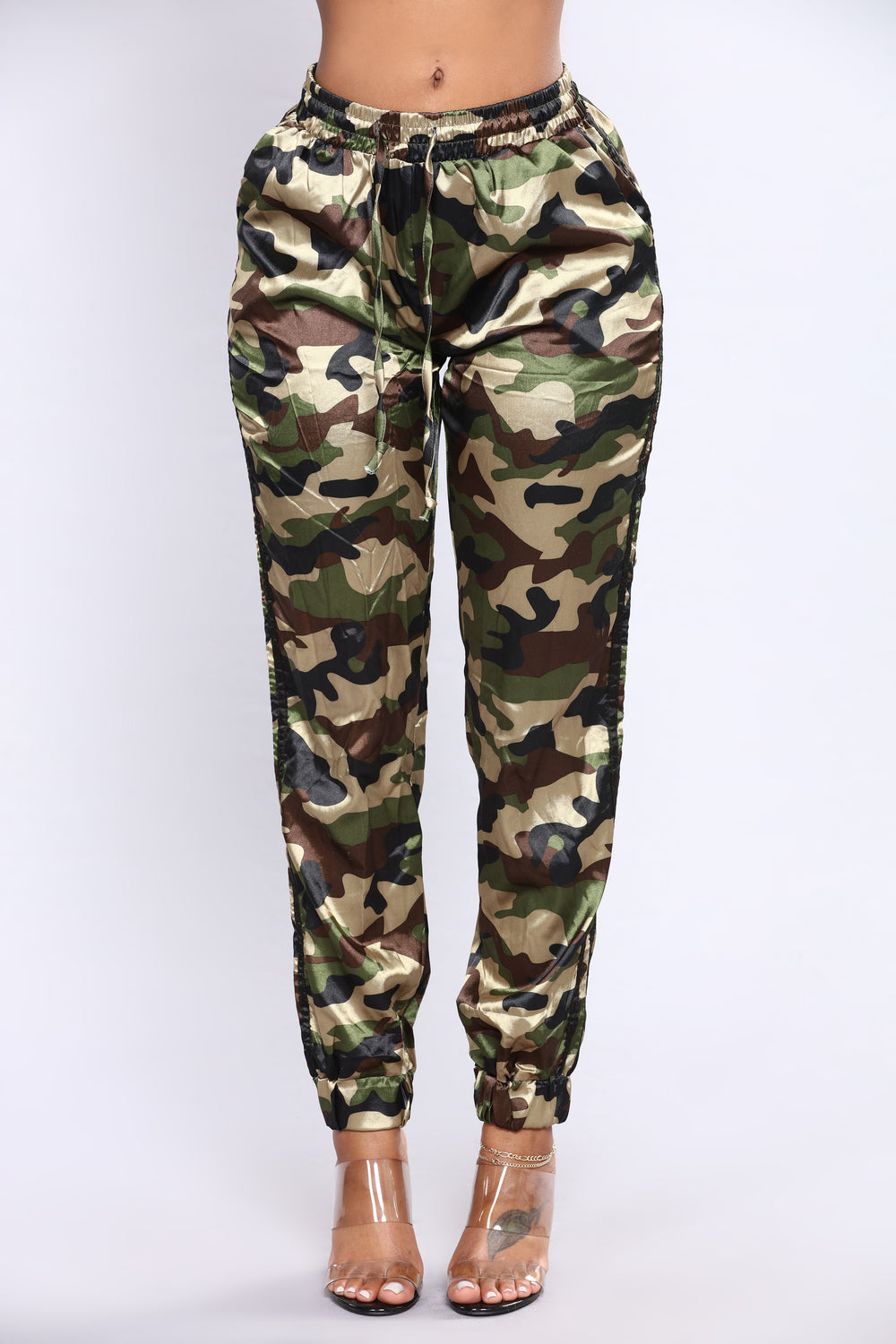 Can't See Me Camo Lounge Set - Camo