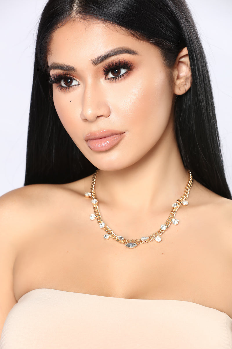 Piece Of Me Choker - Gold