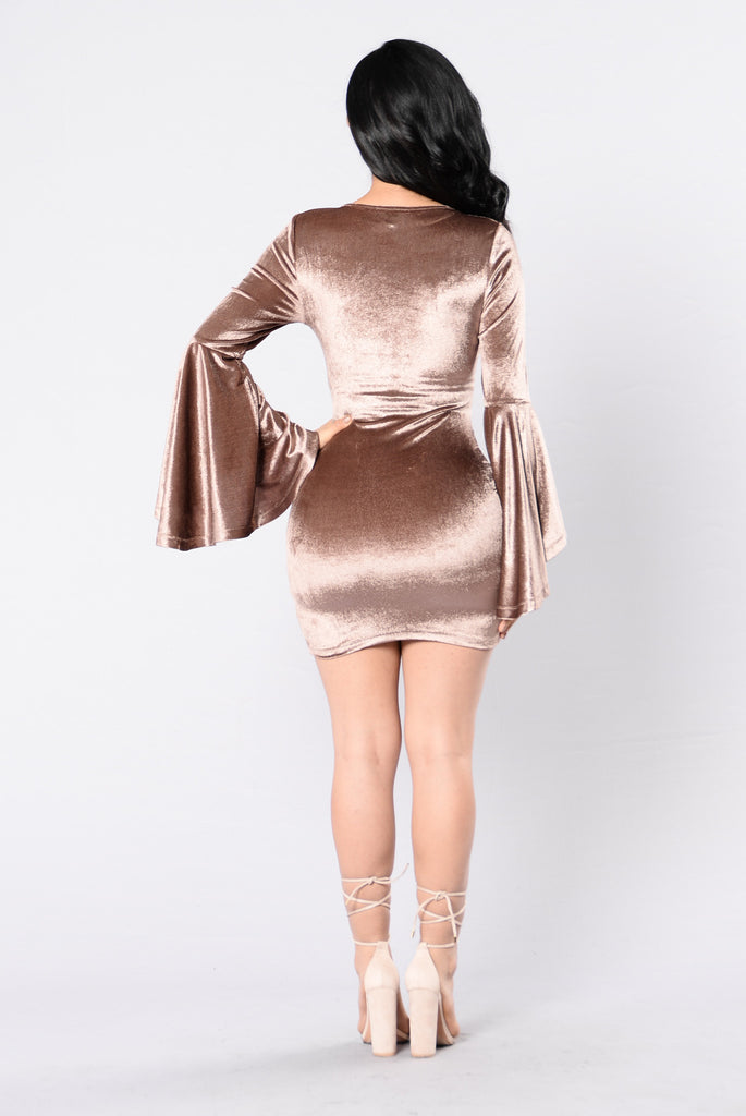 Limitedless Dress - Taupe