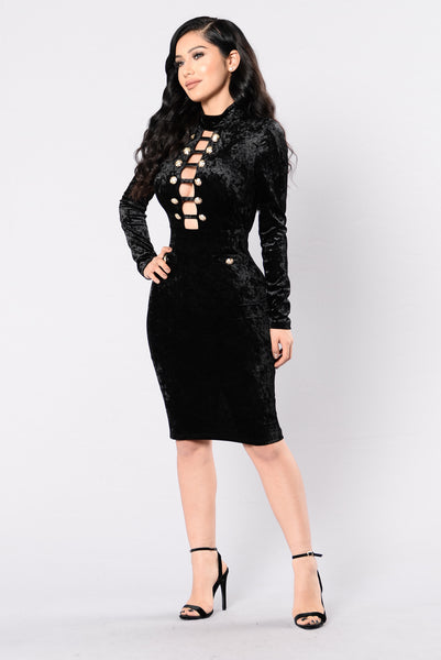 Brand New Me Dress - Black