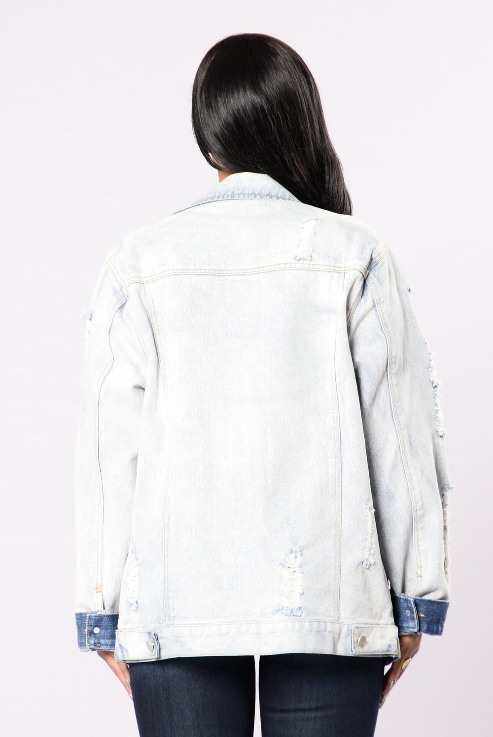 Denim Venom Jacket - Light Wash