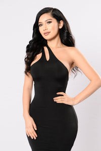 One Time Crime Dress - Black