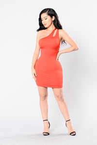 One Time Crime Dress - Red