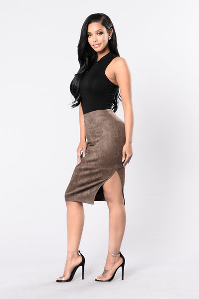 Feel Good Baby Skirt - Olive