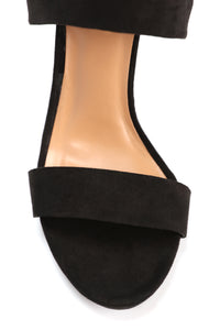Scarlette Lace Up Heel - Black