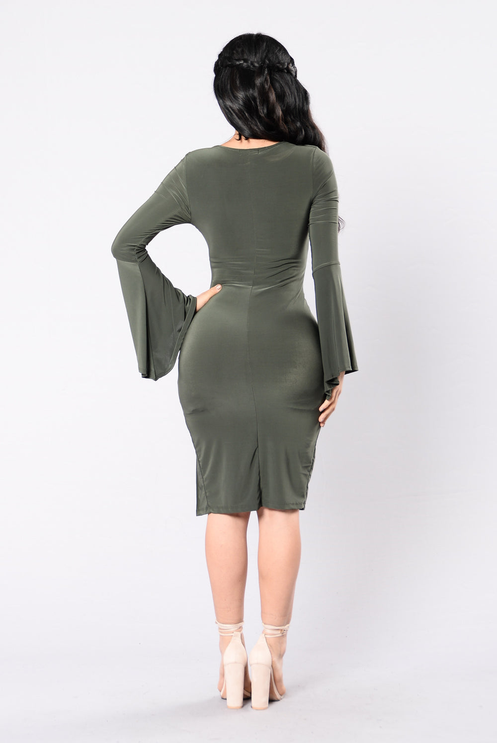 Break Even Dress - Olive