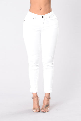 Kayla Pants - White