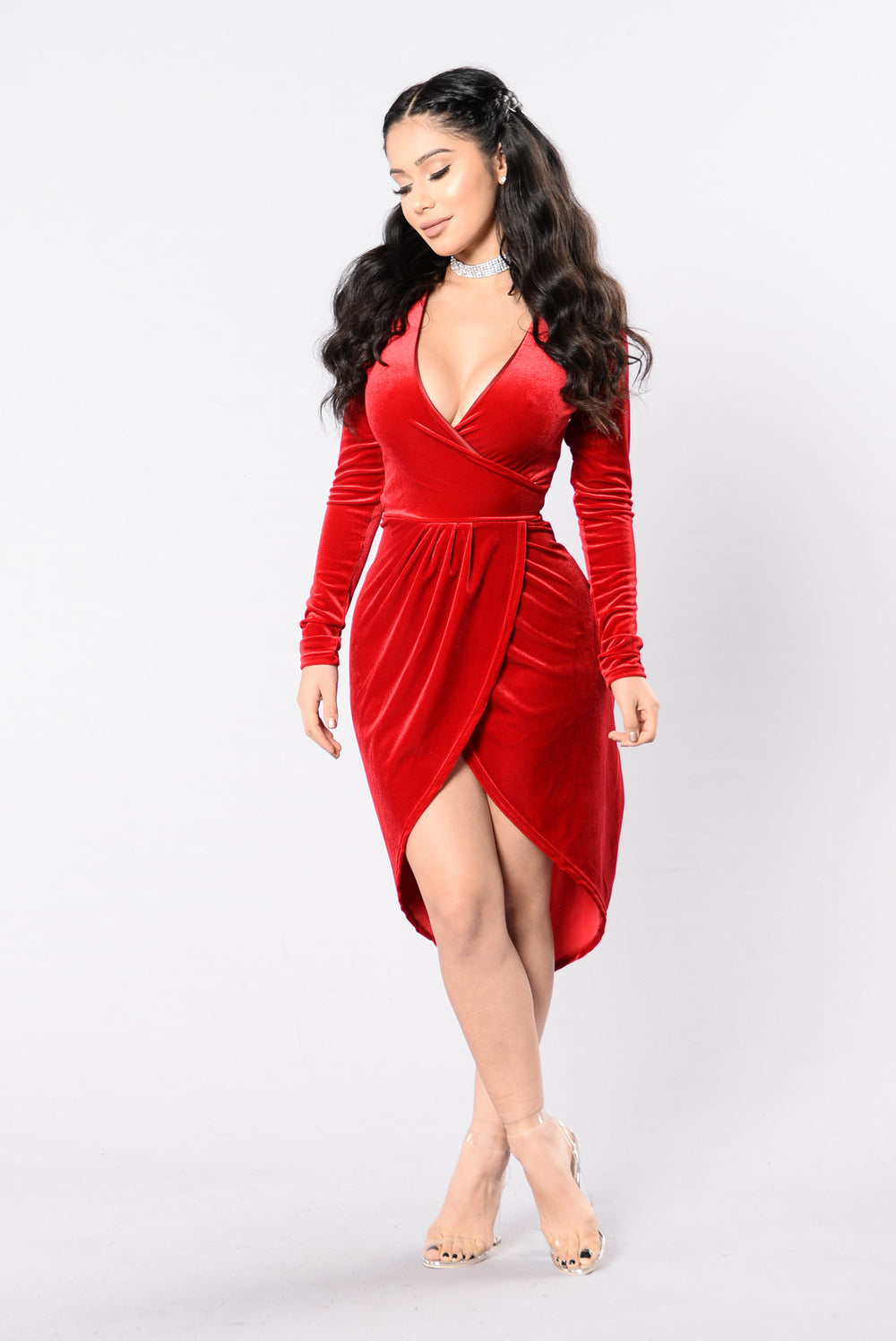 Down To Dance Dress - Red