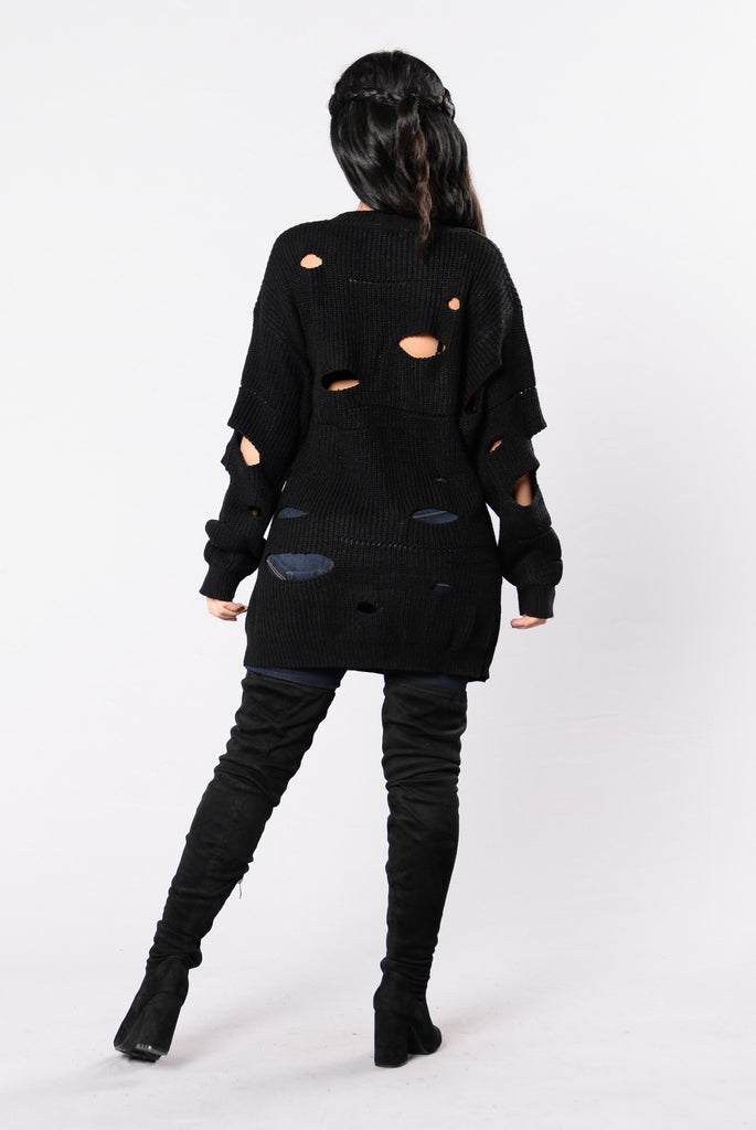 My Vision Sweater - Black