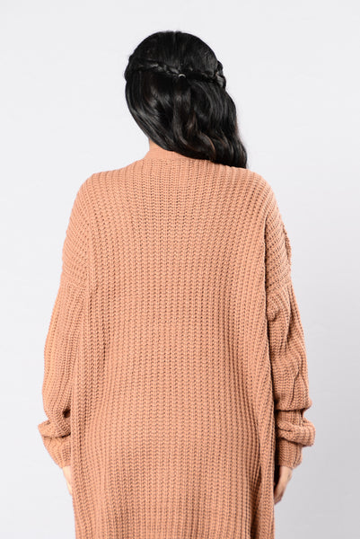 Loneliest Star Sweater - Camel