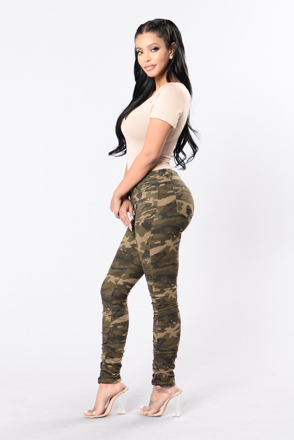 Die And Live By You Pants - Camo