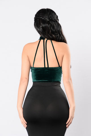 Body Like Mine Bodysuit - Hunter Green