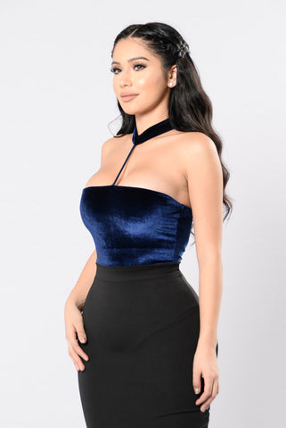 Body Like Mine Bodysuit - Navy