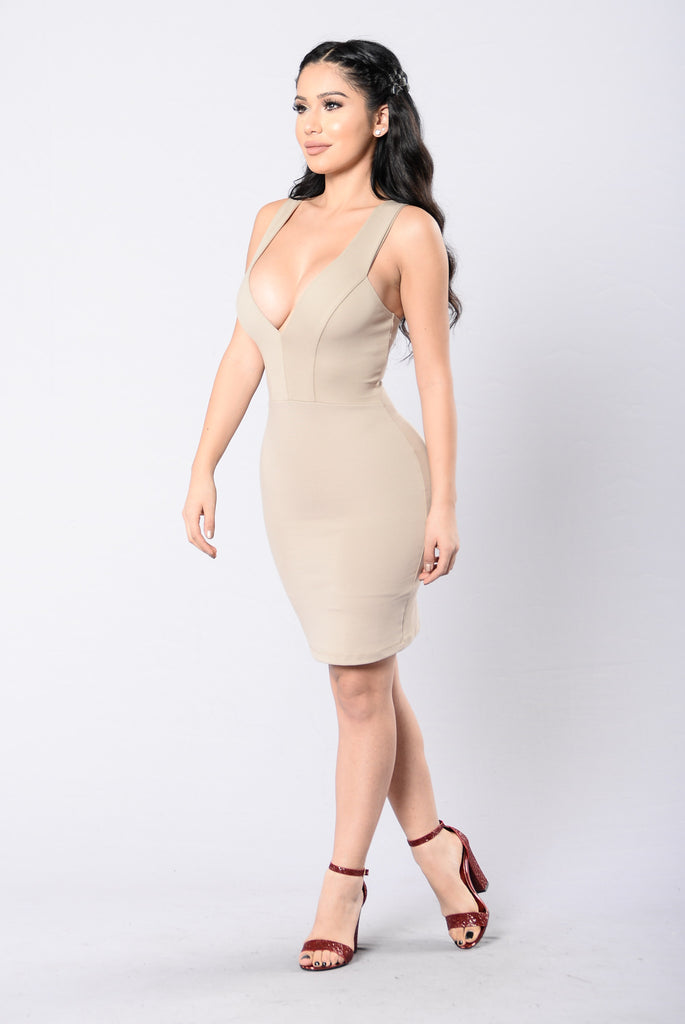 Wonder If You Love Me Dress - Dark Mocha
