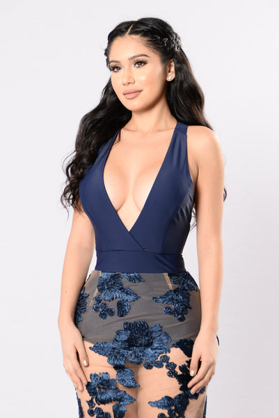 All I Need Dress - Navy