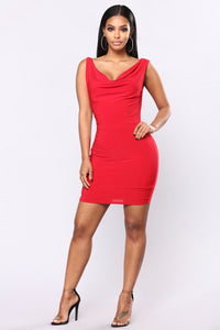 Nite Out Mini Dress - Red