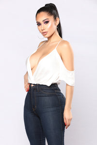Made You Look Bodysuit - White Angle 3