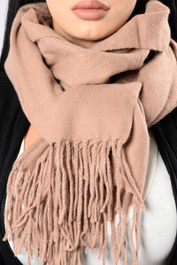 Easily Yours Scarf - Brown