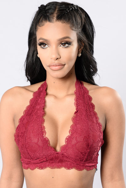 Lacey Days Bralette - Berry