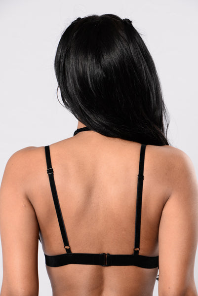 Halo Bralette - Black