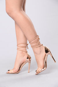 Shine Right Through Heel - Rose Gold