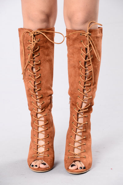 Rank Up Boot - Cognac