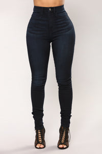 Nagini Skinny Jeans - Dark Denim