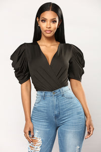 Maribela Bodysuit - Black