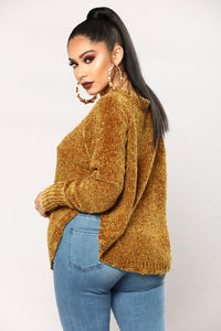 Last Chance Sweater - Mustard
