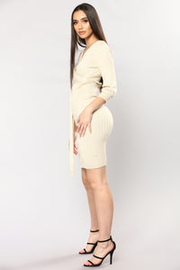 Rue Knit Dress - Khaki