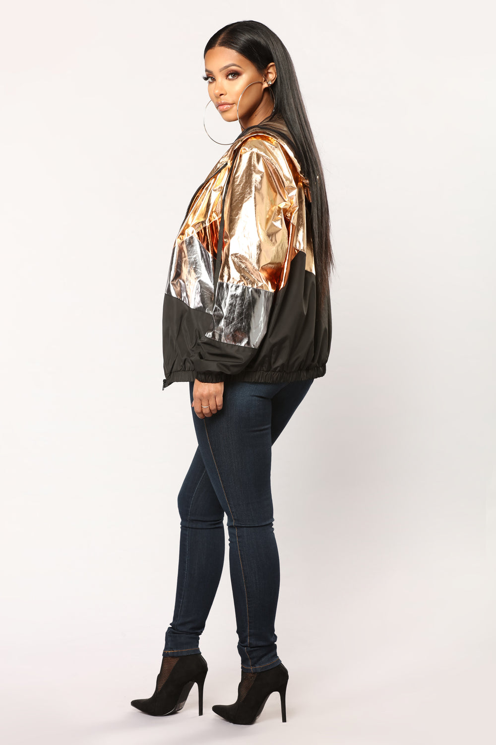 Swish Metallic Jacket - Metallic