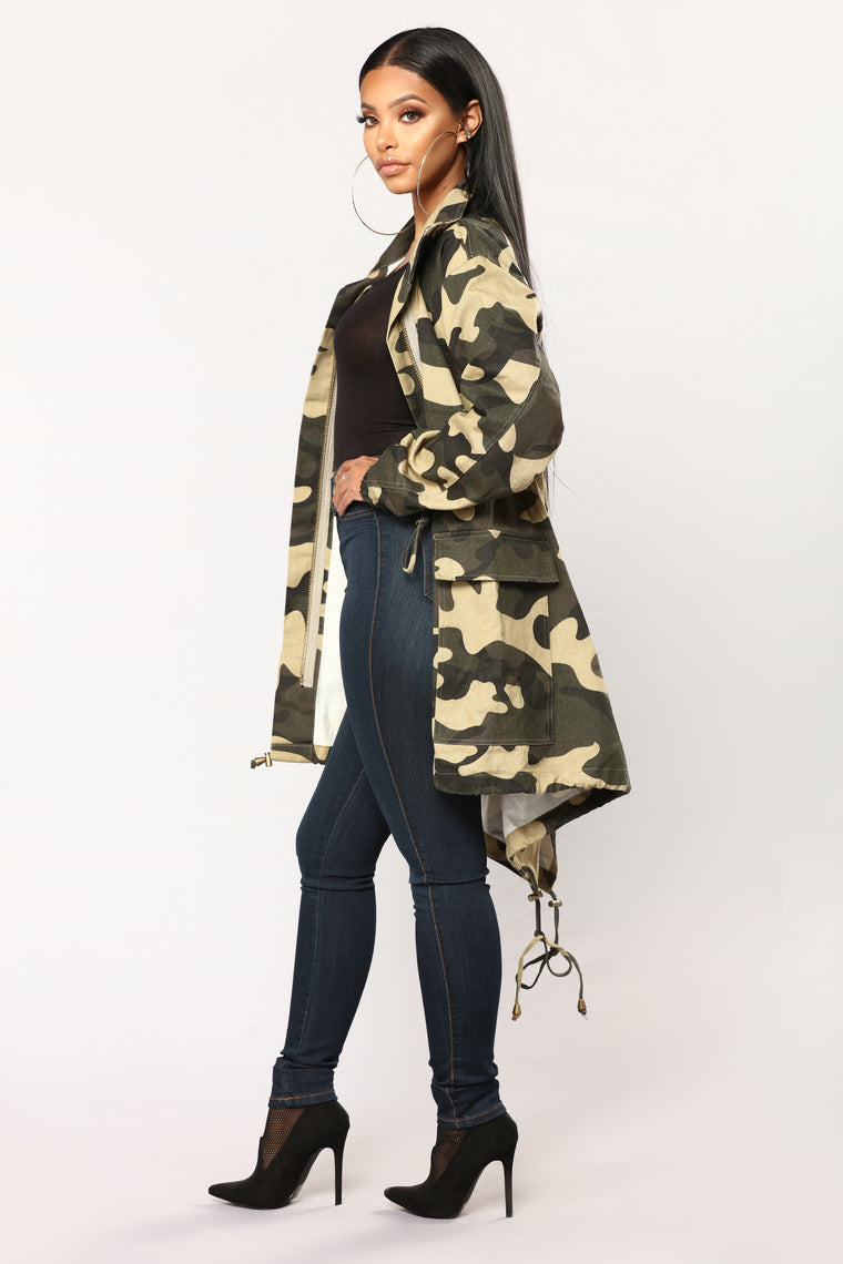 Find Me Jacket - Army