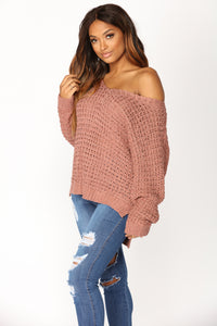 All Things Go Sweater - Marsala
