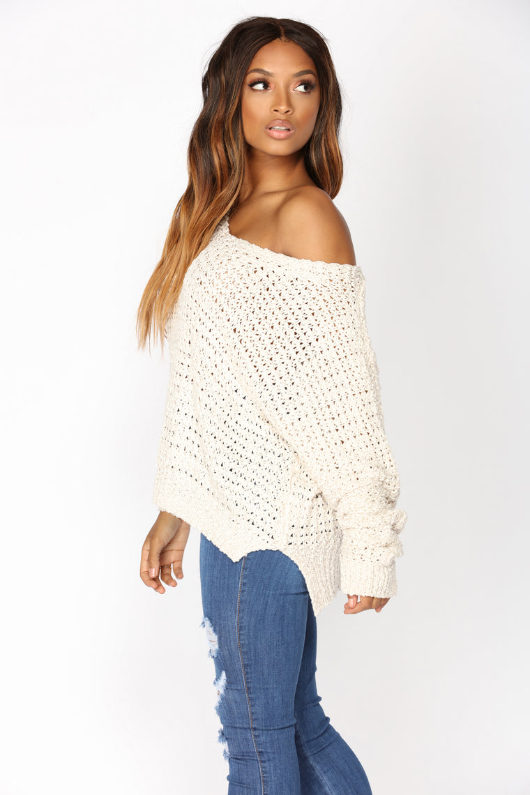 All Things Go Sweater - Ivory
