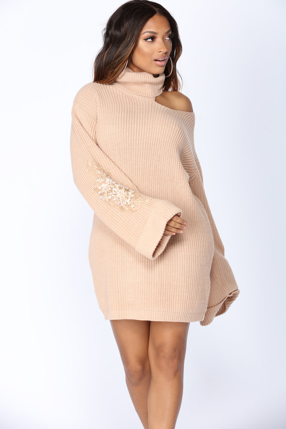 Winter Frost Sweater - Taupe