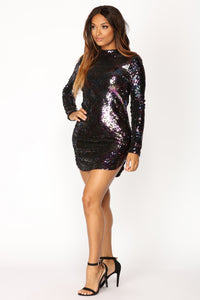 Expose Sequin Dress - Multi