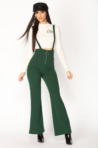Jump In The Ring Jumpsuit - Hunter